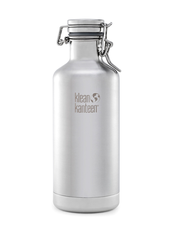 Klean Kanteen Insulated Growler Rostfritt Stål - Brushed Stainless, 946 ml