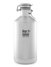 Klean Kanteen Insulated Growler Rostfritt Stål - Brushed Stainless, 1,9 L
