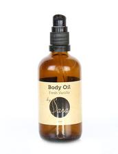 Ekologisk Kroppsolja, Organics by Sara - Body Oil Fresh Vanilla - Välj Storlek