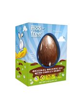 Mjölkfritt Chokladägg Moo free - Original Organic Egg With Choccy Drops, 125 g