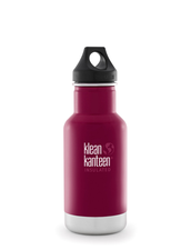 Isolerad Vattenflaska | Klean Kanteen Insulated Classic - Beet Root, 355 ml
