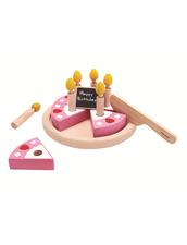Leksaksmat   Födelsedagstårta PlanToys - Birthday Cake Set