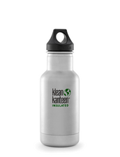 Isolerad Vattenflaska | Klean Kanteen Insulated Classic - Brushed Stainless, 355 ml