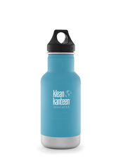 Isolerad Vattenflaska | Klean Kanteen Insulated Classic - Quiet Storm (matt), 355 ml