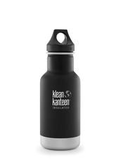 Isolerad Vattenflaska | Klean Kanteen Insulated Classic - Shale Black (matt), 355 ml