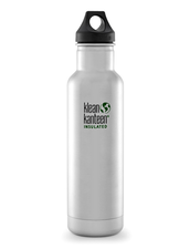 Isolerad Vattenflaska | Klean Kanteen Insulated Classic - Brushed Stainless, 592 ml