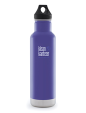 Isolerad Vattenflaska | Klean Kanteen Insulated Classic - Blooming Iris, 592 ml
