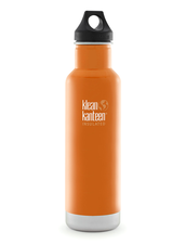 Isolerad Vattenflaska | Klean Kanteen Insulated Classic - Canyon Orange, 592 ml