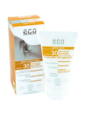 Solkräm Havtorn SPF 30 Tonad - Eco Cosmetics | Ekologisk, 75 ml