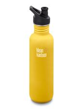 Vattenflaska Rostfritt Stål Klean Kanteen Classic - Lemon Curry, 800 ml
