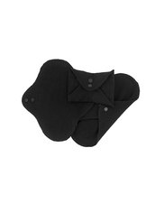 Ekologiska Tygbindor Bomull | ImseVimse, 3-p - Mini, Black