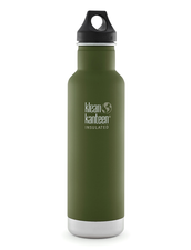 Isolerad Vattenflaska | Klean Kanteen Insulated Classic - Fresh Pine (matt), 592 ml