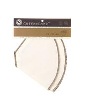 CoffeeSock Återanvändbart Kaffefilter i Ekologisk  Bomull - 2-pack, Droppfilter #4