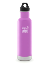 Isolerad Vattenflaska | Klean Kanteen Insulated Classic - Meadow Flower, 592 ml