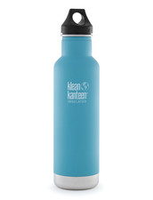 Isolerad Vattenflaska | Klean Kanteen Insulated Classic - Quiet Storm (matt), 592 ml