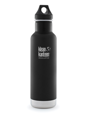Isolerad Vattenflaska | Klean Kanteen Insulated Classic - Shale Black (matt), 592 ml