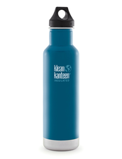 Isolerad Vattenflaska | Klean Kanteen Insulated Classic - Winter Lake, 592 ml