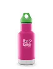Isolerad Vattenflaska Klean Kanteen Kid - Dragon Fruit, 355 ml
