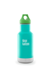 Isolerad Vattenflaska Klean Kanteen Kid - Tidal Pool, 355 ml