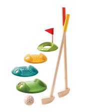 Minigolfset i Trä PlanToys - Minigolf