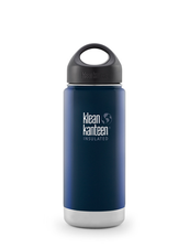Klean Kanteen Wide Isolerad Flaska - Deep Sea, 473 ml