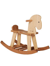 Gunghäst i Bambu - EverEarth Bamboo Rocking Horse