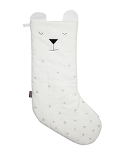 Fabelab Julstrumpa Ekologisk Bomull - Christmas Animal Stocking, Polar Bear