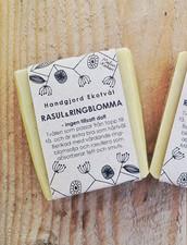 Ekologisk Handgjord Tvål – Rasul & Ringblomma Utan doft, 100 g
