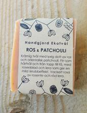 Ekologisk Handgjord Tvål – Patchouli & Ros, 100 g