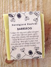 Ekologisk Handgjord Tvål – Barrskog, 100 g
