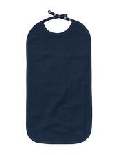 Long Bib - The Organic Company GOTS - Dark Blue, 30x50 cm