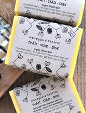 Ekologisk Tvätt & Städ-tvål - Utan Doft, 160 g