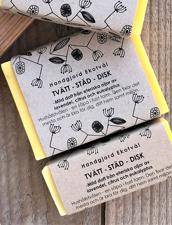 Ekologisk Tvätt & Städ-tvål - Lavendel & Citrus, 160 g