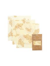 Bee´s Wrap Naturligt och Ekovänligt Folie - Cheese Wraps, 3-p