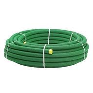Grönt kabelskyddsrör dim 50/42