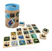 WWF Memo med vilda djur