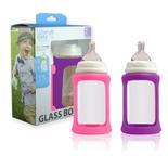 2-pack glasnappflaskor wideneck Berry 240ml