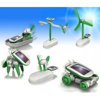 6 soldrivna leksaker - kit