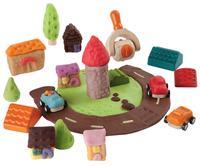 Bygg stad med leklera