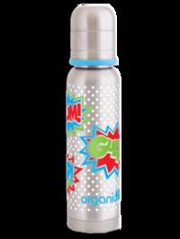 Termosnappflaska OrganicKidz 270 ml