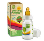 Glasnappflaska ICO baby 120 ml