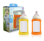2-pack glasnappflaskor wideneck Citrus 240ml