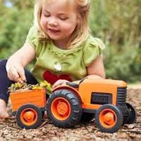Traktor med släp