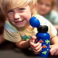 Vattenflaska barn 350 ml fjäril