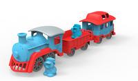 Tåg med vagnar
