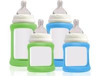 Glasnappflaskor starter kit blå/grön