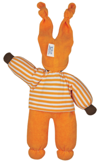 Eko-dockan orange Rag Doll