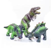 Dinodjur av naturgummi