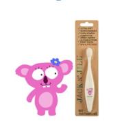 Tandborste av bioplast koala
