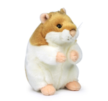 WWF brunvit hamster